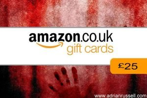Amazon £25 gift card - for buying novel Nothing Left But Fear