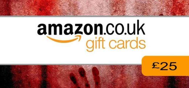 £25 Amazon Voucher Entry Page