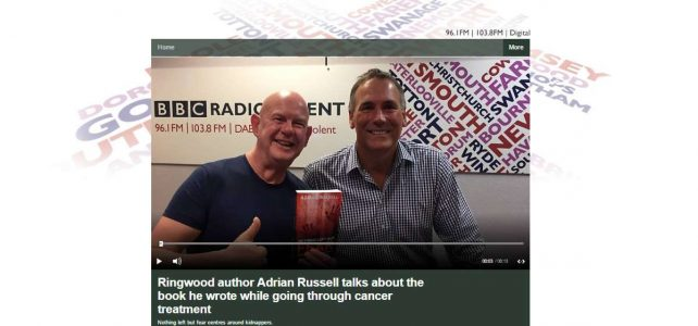 Adrian Russell talks with Julian Clegg on BBC Radio Solent